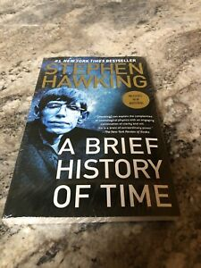 New Sealed Stephen Hawking A Brief History Of Time Book