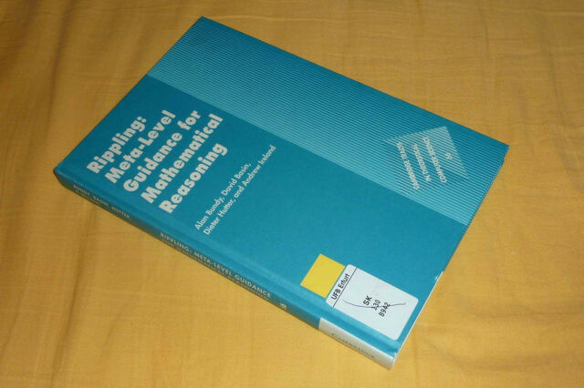 Bundy : Rippling: Meta-Level Guidance For Mathematical Reasoning (2005)