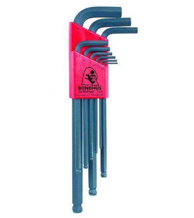 Bondhus BLX9 Metric Ballpoint Allen Key Set 9pc