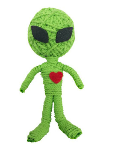 Kamibashi Marty the Alien The Original String Doll Gang Keychain Clip