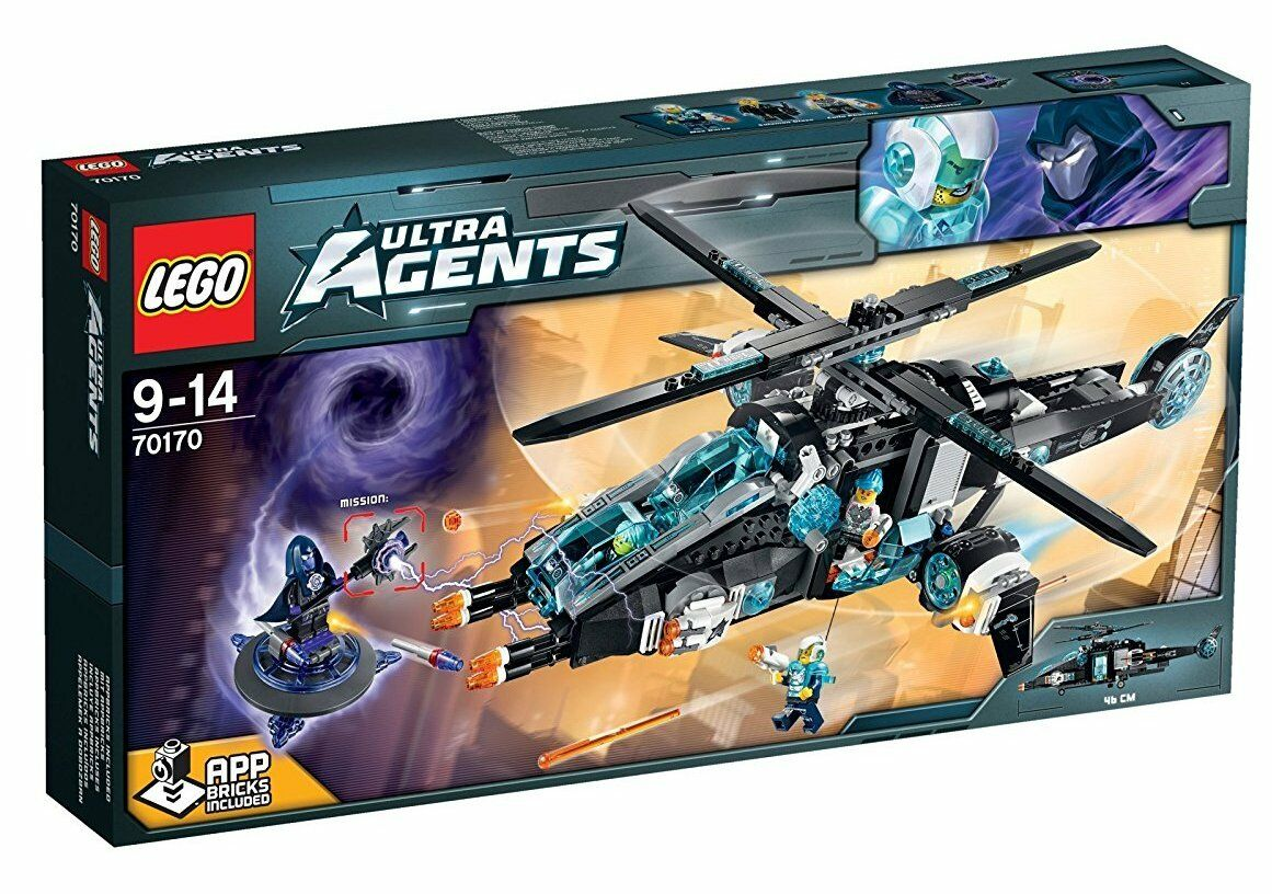 El Ultracóptero vs. AntiMatter - LEGO ULTRA AGENTS 70170 - NUEVO