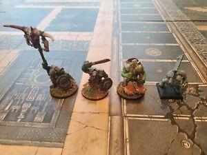 Warhammer AOS Age of Sigmar Fantasy Orruk Orc Command Squad Games Workshop Offic