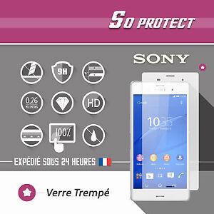 Lots-Film-Vitre-Protection-ecran-en-VERRE-Trempe-pour-SONY-Xperia-35-modeles