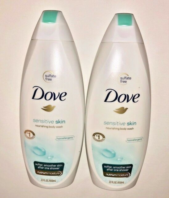 2 Dove Sensitive Skin Nourishing Body Wash 22 Fl Oz For Sale Online