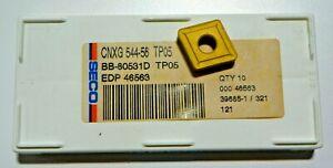 9-PIECES-SECO-CNXG-544-56-TP05-CARBIDE-INSERTS-H582
