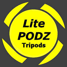 LitePODZ Tripod Kit LPK-1 (holds LED flashlights Headlamps / LED Headlamps flashlights / Cameras ) c93d0b