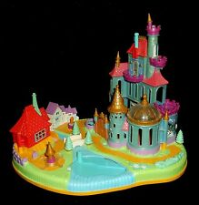Disney Vintage-Polly-Pocket-Beauty & the Beast Castle