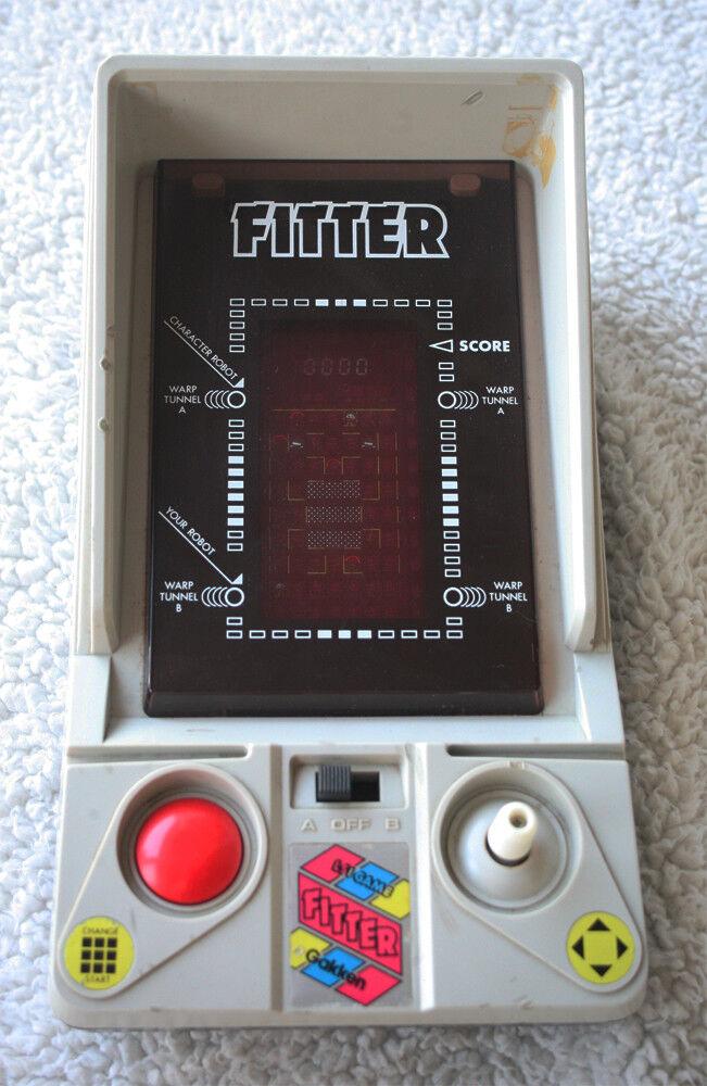 FITTER (Tabletop, spel Watch), GAKKEN 1982 Stil PAC -MAN, mycket sällsynt att hitta