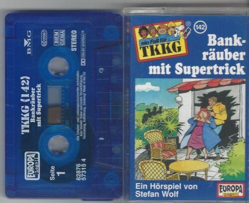 1 von 1 - TKKG - MC - Folge 142 Bankräuber mit Supertrick Europa -2004