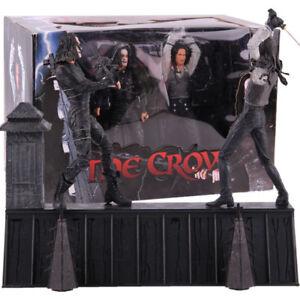 The-Crow-Eric-Draven-VS-Top-dollar-film-d-039-horreur-Poupee-PVC-Action-Figure-Model-Toy