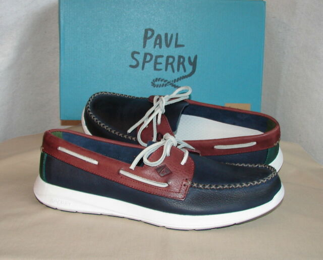 c4c958f0ea Sperry Sojourn Leather Boat Shoes Paul Sperry Collection Men s 13 M ...