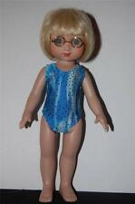 "Blue dot sparkle swimsuit for 10"" Ann Estelle or Patsy doll clothes by TKCT"