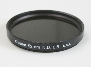 CANON-52MM-N-D-0-6-FILTER-SPOTS-ON-GLASS-176536
