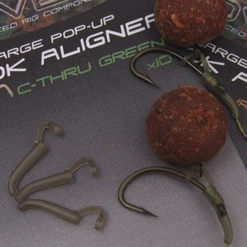Gardner Neuf Covert Pop Up Crochet Aligneur peche carpe Cheveux Rig Twist accrochage D Rig