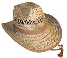 ZIG ZAGGED OPEN STRAW COWBOY HAT western HT148 mens ladies ranch hats cowgirl