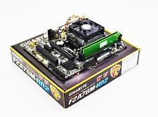 AMD A6-6400K 4.1GHz Dual Core CPU Gigabyte F2A78M-HD2 4GB Motherboard Bundle