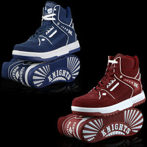 5b9abba889f1 NEW AUTHENTIC BRITISH KNIGHTS DIRECTOR HIGH TOP SHOES BLUE OR RED