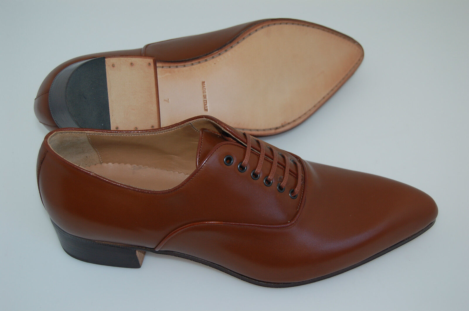 MAN-43-9eu-10us-OXFORD-BRANDY CALF-VITELLO BRANDY-LTH SOLE/SUOLA CUOIO+BLAKE CST