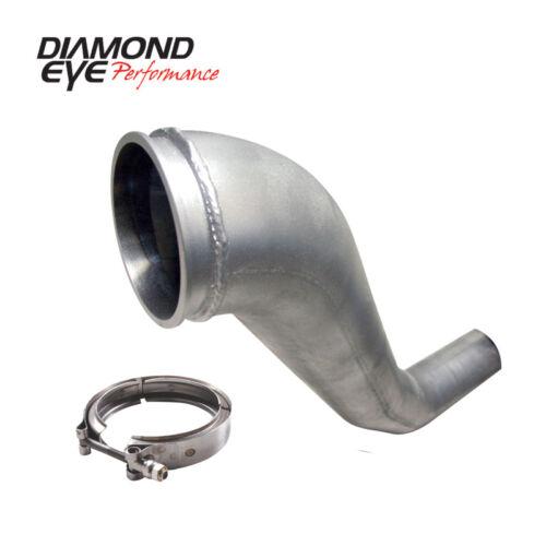 Diamond Eye HX40 Downpipe /& V-Band Clamp Kit Fits 1994-2002 Cummins 5.9L 221043