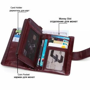 Leather-Wallets-Genuine-Women-Purses-Coin-Female-Casual-Clutch-Lady-Cards-Holder