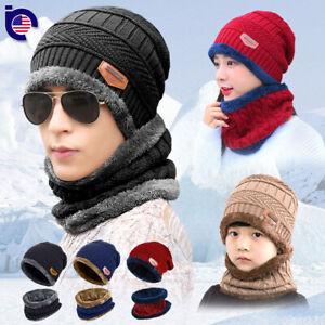 Winter-Beanie-Hat-Scarf-Set-Fleece-Warm-Balaclava-Snow-Ski-Cap-for-Kid-Men-Women