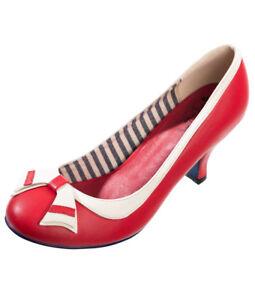 eced9ea4e19319 Danse Jours par Banned Brillant Chutes Années 40 50 Vintage Nautique ...