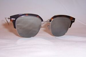 a7b1a17496 NEW DIOR HOMME DIORTENSITY S KRZ-0T HAVANA SILVER MIRROR SUNGLASSES ...