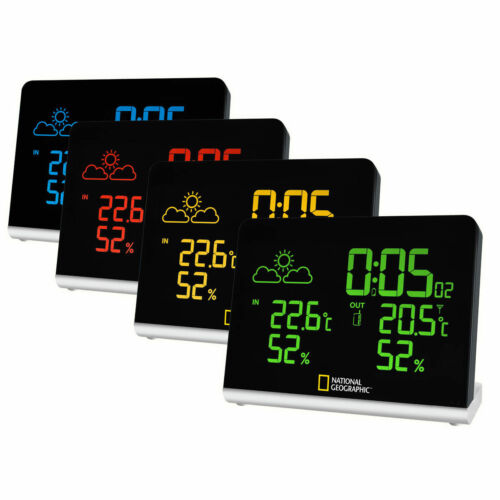 National Geographic Multi-Colour Screen Weather Station**FREE DELIVERY**