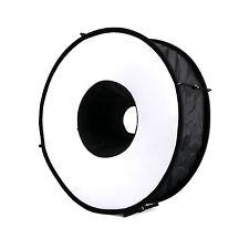 Meking18'' 45cm Magnetic Macro Ring Circular Round Softbox Speedlite Flash Light