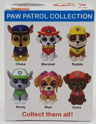 ty Mini Boos Collectibles Paw Patrol Zuma