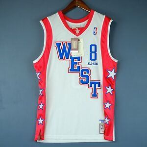 100% Authentic Kobe Bryant Mitchell   Ness 2004 All Star Jersey Mens ... 0c8163afe