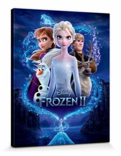Die Eiskönigin Frozen 2 Elsa Anna Disney Poster Leinwand-Bild 50x40cm #127750
