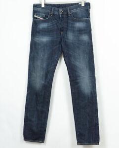 Diesel-Buster-Jeans-0831Q-Regolare-Slim-Affusolato-da-Uomo-Misura-W31-L32