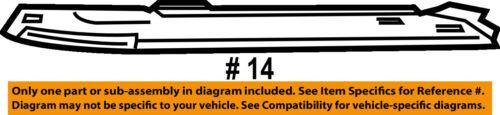HONDA OEM Bumper-Foglight Fog Driving Light  Cover Bezel Trim Right 33301TM8J01