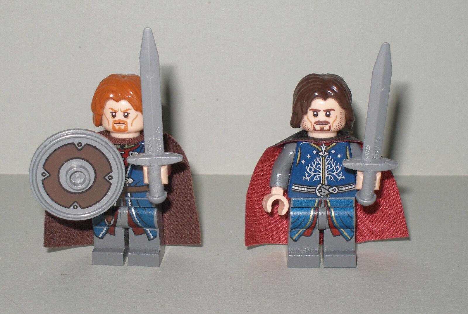 LEGO LO  HOBBIT Signore degli Anelli Boromir e Aragona + ACCESSORI  prodotti creativi