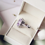 5Ct-Oval-Cut-Amethyst-Diamond-Cocktail-Halo-Engagement-Ring-14K-White-Gold-Over thumbnail 2