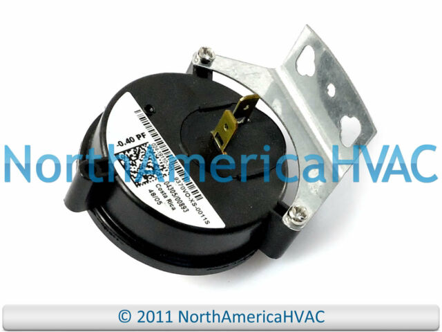 """York Coleman Luxaire Air Pressure Switch 024-27639-000 S1-02427639000 1.20/"""""""