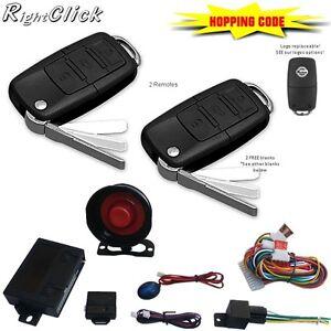 Car Alarm Remote Central Lock Immobiliser AL669HC eBay