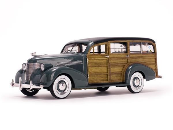 Chevrolet Woody Surf Wagon 1939 1 18 6177