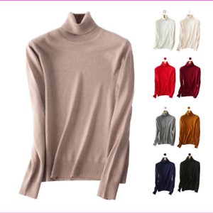 Andrew-Marc-Women-039-s-Turtleneck-Ladies-Sweater