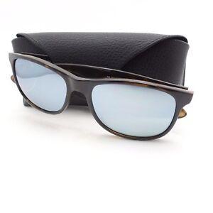 20f5b83960 Ray Ban 4202 710 Y4 Havana Silver Mirror Polarized New Sunglasses ...