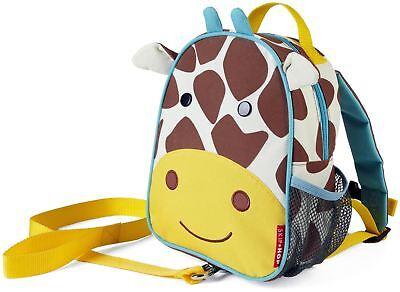 Delizioso Skip Hop Zoolet Mini Zaino Con Redini-giraffa Bambini Vestiti Borse Bn-mostra Il Titolo Originale Piacevole Nel Dopo-Gusto