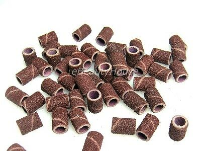 100 x Sanding Bands #80 Drill Machine Replace Nail Art #041D