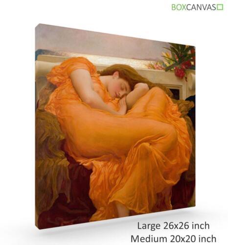 Frederic Leighton anglais classique Flaming June Galerie Wrap