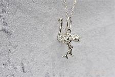 Emu bird sterling silver charm .925 x 1 Flightless birds charms SSLP1533