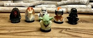 Star-Wars-Lucasfilm-1999-Mini-Bust-Collection-Figures-Set-6