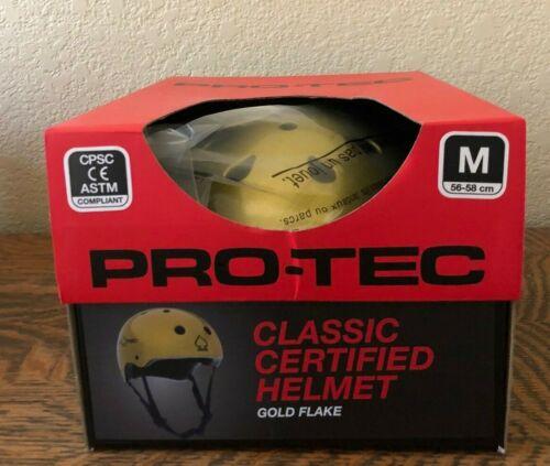 Classique Protec Casque certifié-Gold Flake
