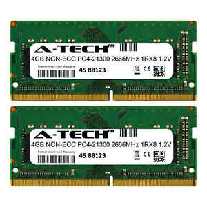 8GB-Kit-2x-4GB-for-Dell-Inspiron-5368-5370-5378-5379-5468-5480-5482-Memory-Ram
