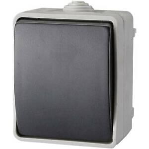 Gao-commutatore-interruttore-standar-grigio-ef600sa