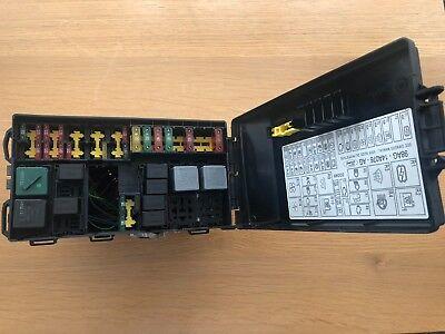 y reg ford focus fuse box ford focus mk1 2001 ghia  1 8 tdci fuse box  98ag14a142ad  ebay  ford focus mk1 2001 ghia  1 8 tdci fuse